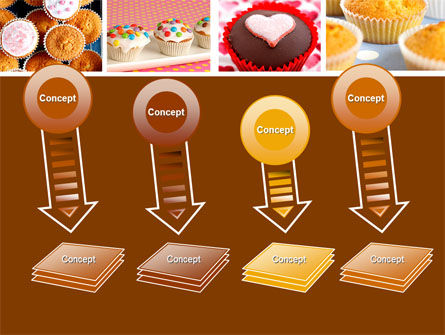 Cupcakes PowerPoint Template Slide 8
