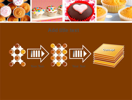 Cupcakes PowerPoint Template Slide 9