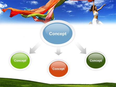 Lucky Girl PowerPoint Template, Slide 4, 04824, Medical — PoweredTemplate.com