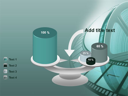 Film Reel PowerPoint Template Slide 10