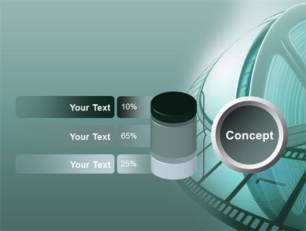 Film Reel PowerPoint Template Slide 11
