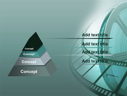 Film Reel PowerPoint Template Slide 12