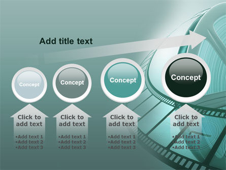 Film Reel PowerPoint Template Slide 13