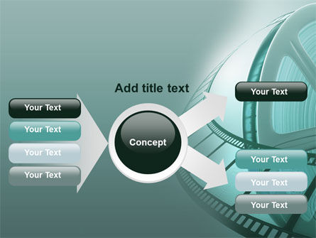 Film Reel PowerPoint Template Slide 14