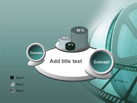 Film Reel PowerPoint Template Slide 16