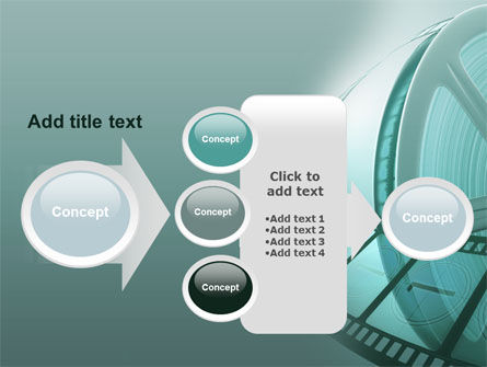 Film Reel PowerPoint Template Slide 17