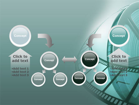 Film Reel PowerPoint Template Slide 19