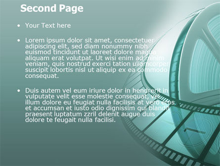 Film Reel PowerPoint Template Slide 2
