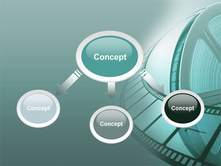 Film Reel PowerPoint Template Slide 4