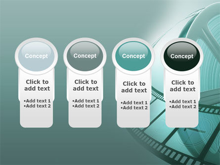 Film Reel PowerPoint Template Slide 5