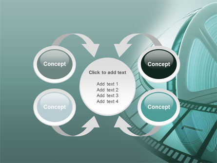 Film Reel PowerPoint Template Slide 6