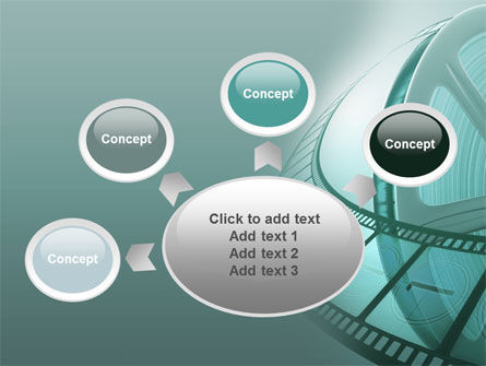 Film Reel PowerPoint Template Slide 7