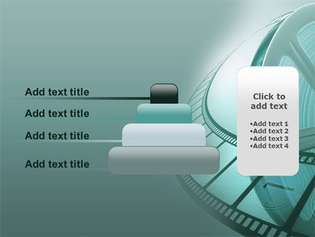 Film Reel PowerPoint Template Slide 8