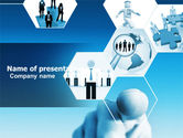 Business Concepts: Business Professional PowerPoint Template #04831