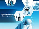 Business Concepts: Plantilla de PowerPoint - profesional de negocios #04831