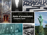 Holocaust PowerPoint Template#1