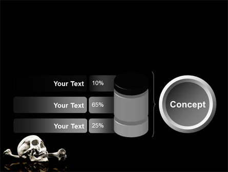 Skull And Bone PowerPoint Template Slide 11