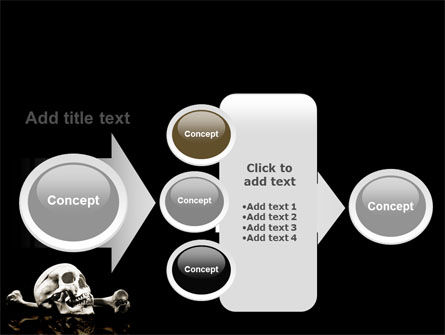 Skull And Bone PowerPoint Template Slide 17