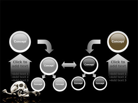Skull And Bone PowerPoint Template Slide 19