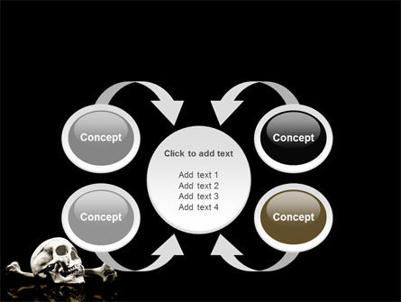 Skull And Bone PowerPoint Template Slide 6