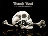 Skull And Bone PowerPoint Template#20
