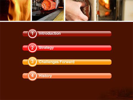 Metallurgy PowerPoint Template, Slide 3, 04835, Utilities/Industrial — PoweredTemplate.com