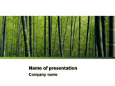 Nature & Environment: Templat PowerPoint Bambu #04836
