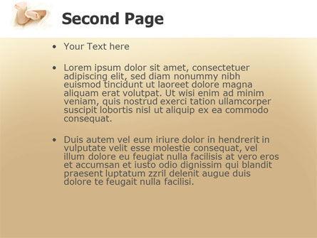 Little Feet PowerPoint Template Slide 2