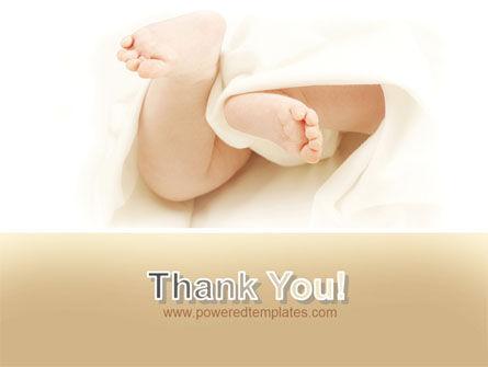 Little Feet PowerPoint Template Slide 20