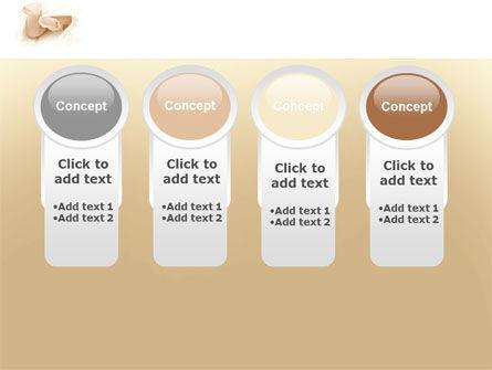 Little Feet PowerPoint Template Slide 5