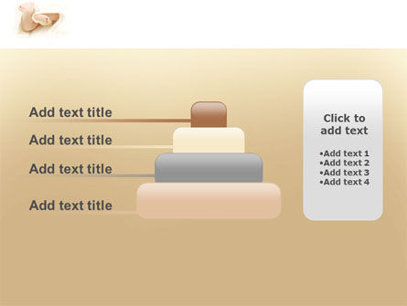 Little Feet PowerPoint Template Slide 8