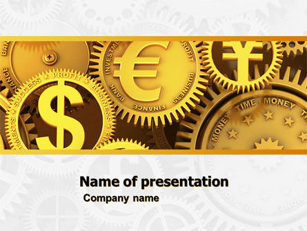 Finance PowerPoint Template, 04839, Financial/Accounting — PoweredTemplate.com