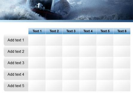 Sea Storm PowerPoint Template Slide 15