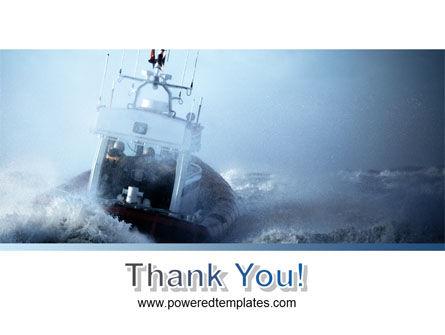 Sea Storm PowerPoint Template Slide 20