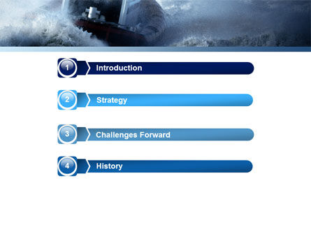 Sea Storm PowerPoint Template Slide 3