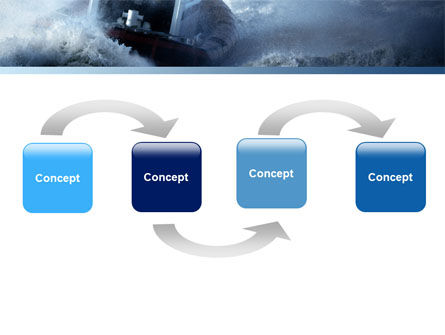 Sea Storm PowerPoint Template Slide 4