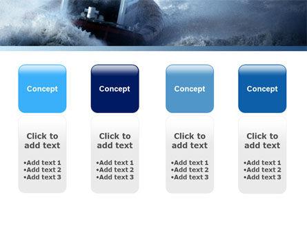 Sea Storm PowerPoint Template Slide 5