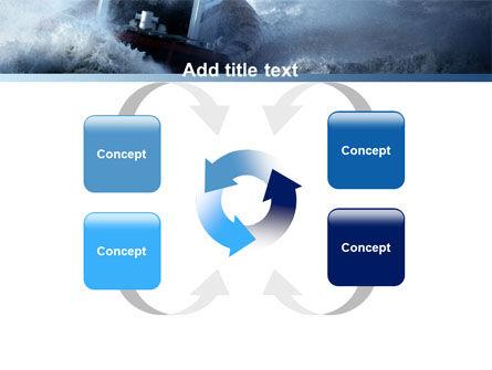 Sea Storm PowerPoint Template Slide 6