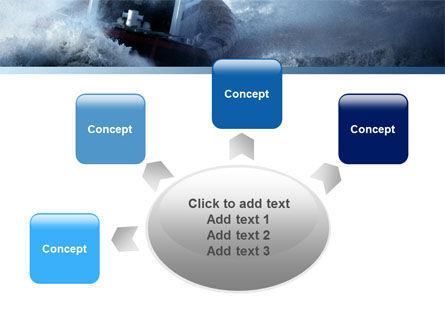 Sea Storm PowerPoint Template Slide 7