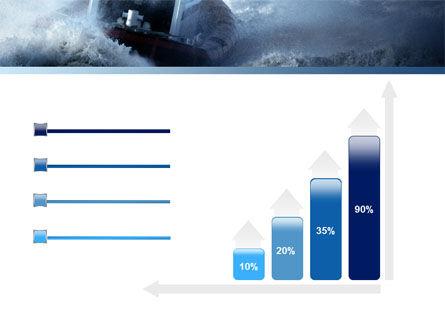 Sea Storm PowerPoint Template Slide 8