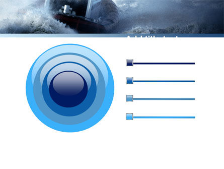 Sea Storm PowerPoint Template Slide 9