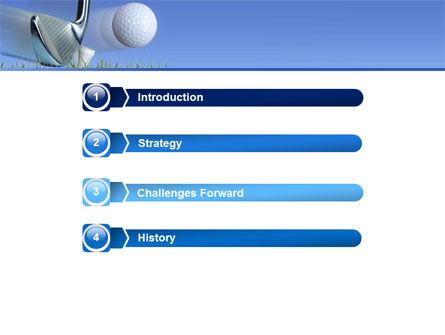 Slight Bump In Golf PowerPoint Template, Slide 3, 04845, Sports — PoweredTemplate.com