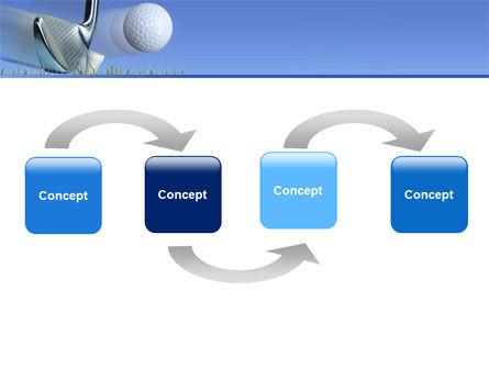 Slight Bump In Golf PowerPoint Template, Slide 4, 04845, Sports — PoweredTemplate.com