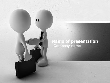 Consulting: Making Business PowerPoint Template #04846