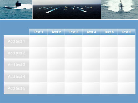 Submarine PowerPoint Template Slide 15