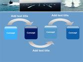 Submarine PowerPoint Template#4