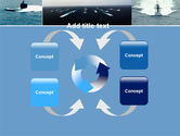 submarine powerpoint template, backgrounds | 04850, Presentation templates