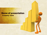Business Concepts: Improving Growth PowerPoint Template #04851
