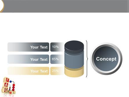 FAQ PowerPoint Template Slide 11
