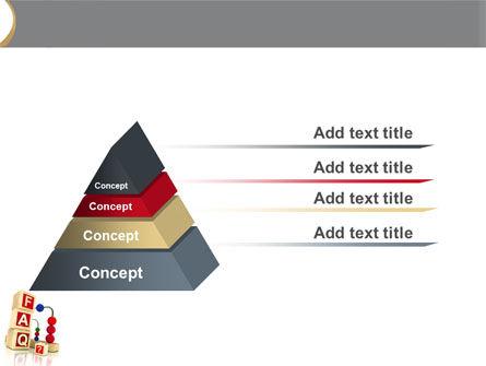 FAQ PowerPoint Template Slide 12